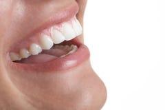 Sorriso della bocca Immagine Stock