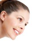 Sorriso della donna immagini stock