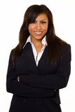 Sorriso della donna di affari Immagine Stock Libera da Diritti