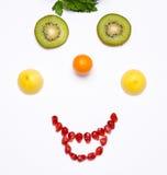 Sorriso della frutta Immagini Stock Libere da Diritti