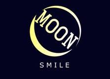 Sorriso della LUNA Fotografia Stock