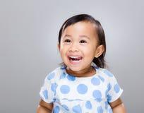Sorriso della neonata Fotografia Stock Libera da Diritti