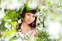 Sorriso della primavera Immagini Stock