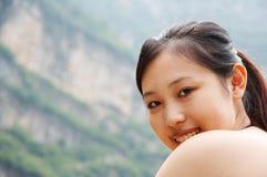 Sorriso della ragazza Fotografia Stock Libera da Diritti