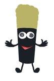 Sorriso della spazzola Fotografia Stock