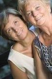 Sorriso delle donne Immagini Stock