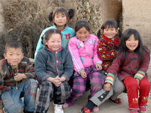 Sorriso delle ragazze Fotografia Stock Libera da Diritti