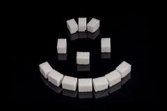 Sorriso dello zucchero Immagini Stock