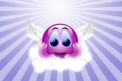 Sorriso di angelo Fotografie Stock Libere da Diritti
