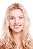 Sorriso di bella ragazza Immagine Stock Libera da Diritti