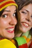 Sorriso di Doble Fotografia Stock Libera da Diritti