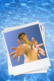 Sorriso di estate Fotografia Stock