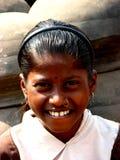 Sorriso di Teethy Fotografia Stock