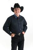 Sorriso do cowboy Fotos de Stock