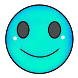Sorriso do Emoticon ilustração royalty free