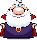Sorriso do feiticeiro dos desenhos animados Fotografia de Stock