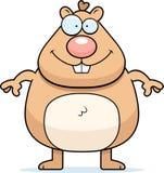 Sorriso do hamster ilustração royalty free