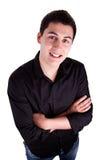 Sorriso do homem novo Fotos de Stock Royalty Free