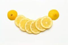 Sorriso do limão Imagem de Stock