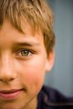 Sorriso do menino Foto de Stock Royalty Free