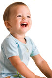 Sorriso do miúdo Fotografia de Stock Royalty Free