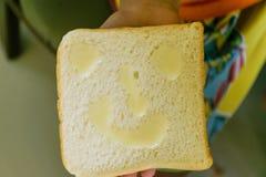 Sorriso do pão Foto de Stock