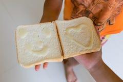 Sorriso do pão Imagens de Stock Royalty Free