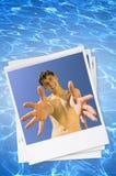 Sorriso do verão Foto de Stock