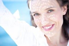 Sorriso do verão - jovem mulher feliz Imagem de Stock