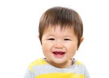 Sorriso dolce del piccolo bambino Fotografie Stock