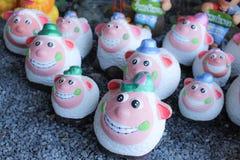 Sorriso dos carneiros da boneca Imagens de Stock Royalty Free
