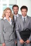 Sorriso dos colegas do negócio Imagem de Stock Royalty Free