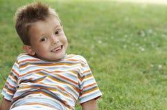 Sorriso dos jovens fotografia de stock