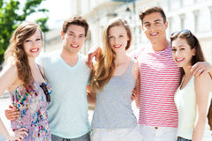 Sorriso dos jovens Fotografia de Stock Royalty Free