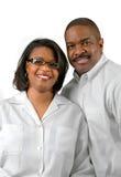 Sorriso dos pares Fotografia de Stock Royalty Free