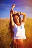 Sorriso e alegria imagens de stock