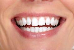 Sorriso e dentes da mulher fotografia de stock royalty free