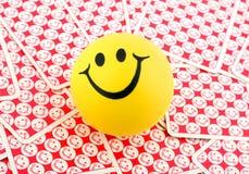 Sorriso em cartões de sorriso Imagens de Stock Royalty Free