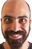 Sorriso engraçado do homem Imagem de Stock Royalty Free