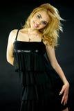 Sorriso fêmea italiano do modelo feliz Fotografia de Stock Royalty Free