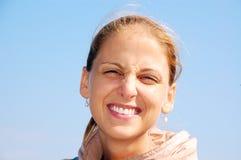 Sorriso felice Fotografie Stock