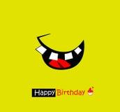 Sorriso feliz Imagem de Stock