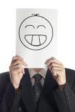 Sorriso feliz Fotografia de Stock