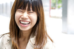 Sorriso grande Imagens de Stock