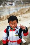 Sorriso innocente Fotografia Stock