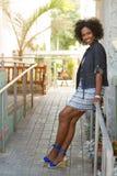 Sorriso maduro bonito da mulher Imagens de Stock