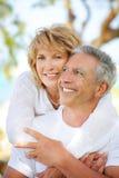 Sorriso maduro dos pares Imagem de Stock Royalty Free
