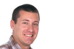 Sorriso masculino Foto de Stock Royalty Free