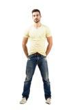 Sorriso modelo masculino latin considerável Imagem de Stock Royalty Free