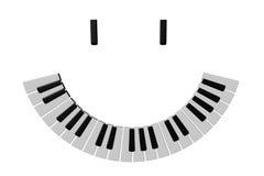 Sorriso musicale Immagine Stock
